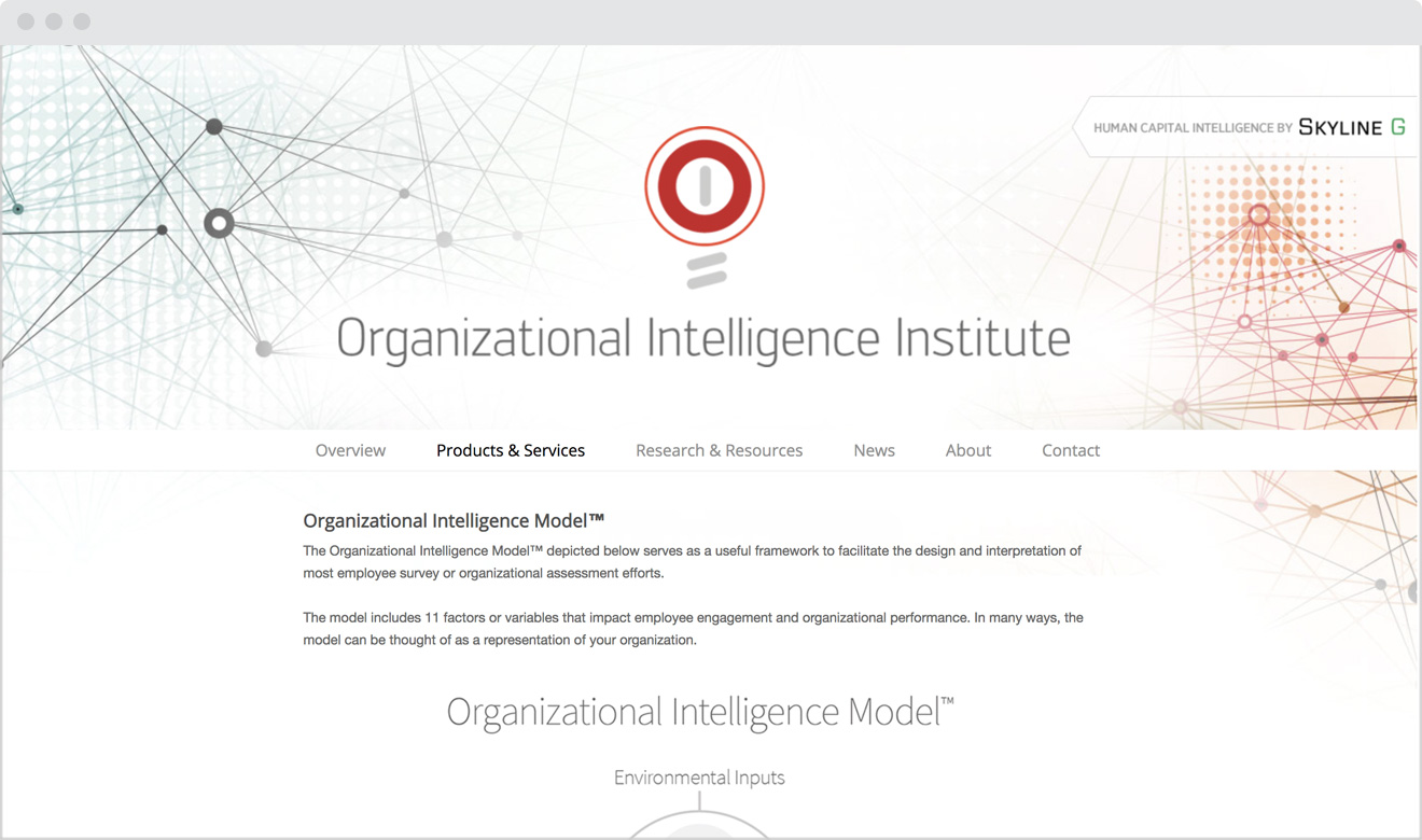 Organizational Intelligence Institute
